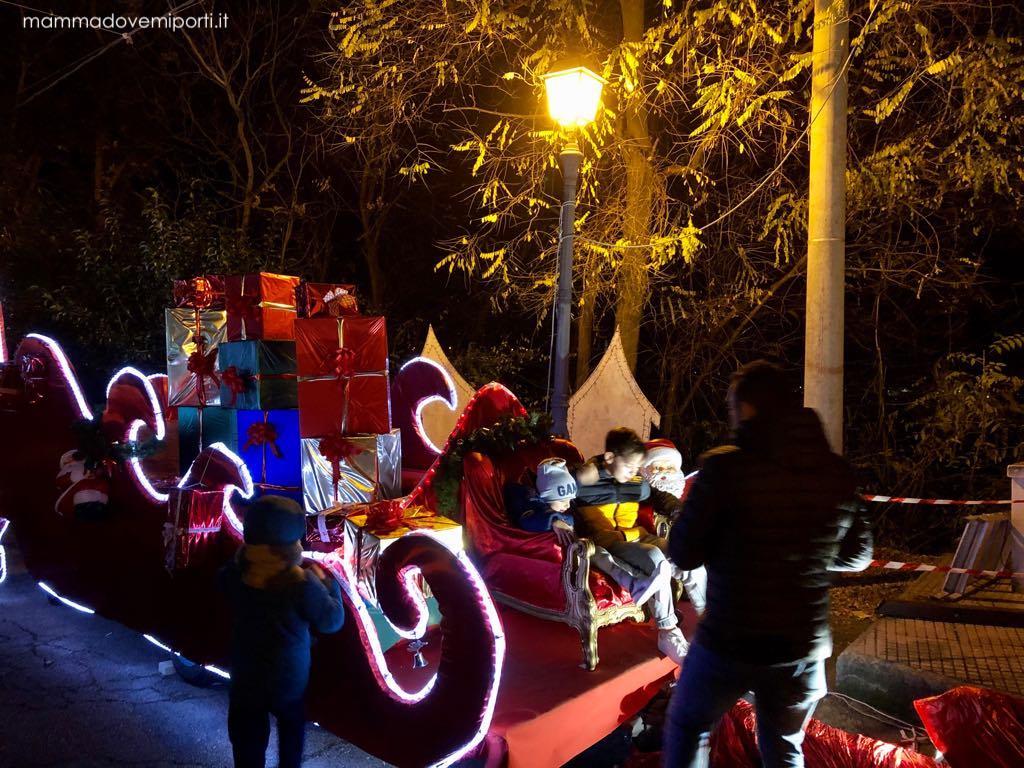 Slitta al Borgo di Babbo Natale a Ripattoni