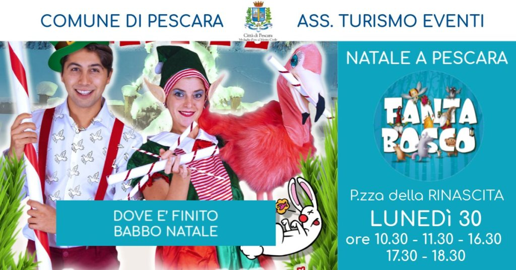 Spettacolo-per-bambini-Natale-a-Pescara