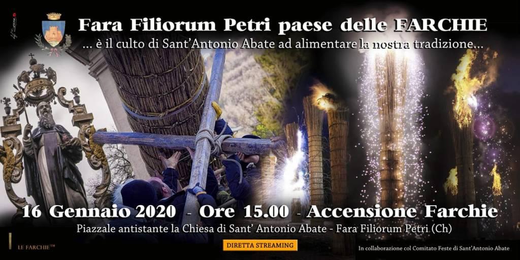 Accensione delle Farchie a Fara Filiorum Petri