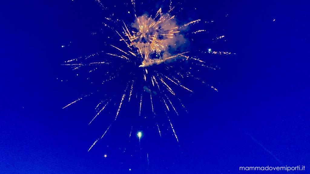 Carnevale Giuliese fuochi d'artificio