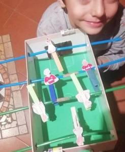 Realizzare un biliardino con il laboratorio Disseminazioni Culturali di A Piccoli Passi