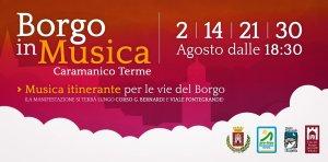 Eventi Ferragosto 2020 con i bambini in Abruzzo: Borgo in Musica a Caramanico Terme