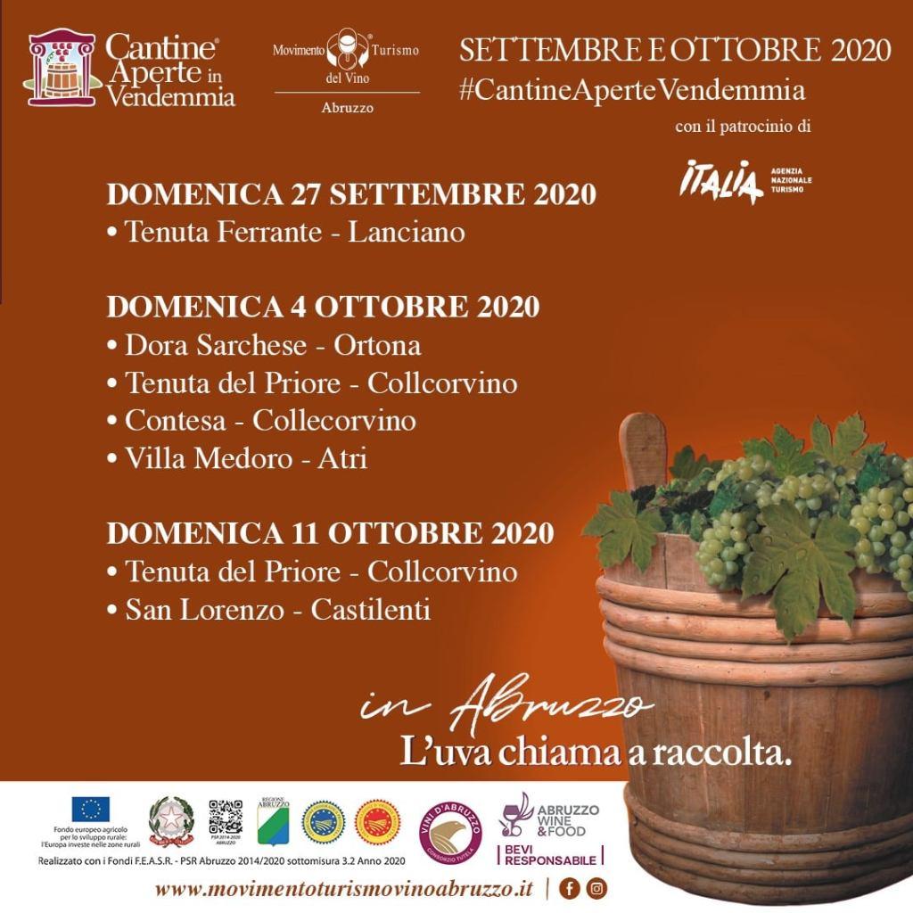 Vendemmia con i bambini in Abruzzo con Cantine Aperte in Vendemmia