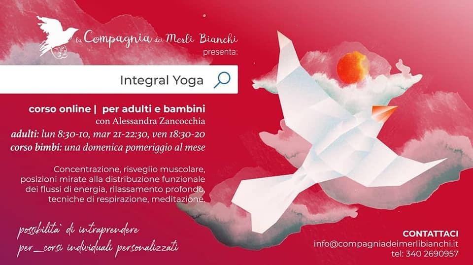 Corso di Integral Yoga - Compagnia dei Merli Bianchi lezione omaggio ai lettori del blog