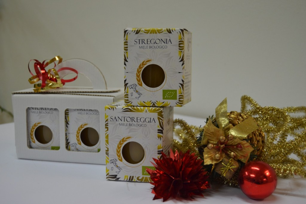 Cesti natalizi Aurum Terrae Bio- Dolce Miele