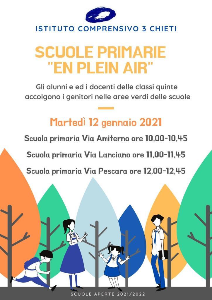 Open Day 2021 Scuole di Chieti Infanzia Istituto Comprensivo Chieti 3