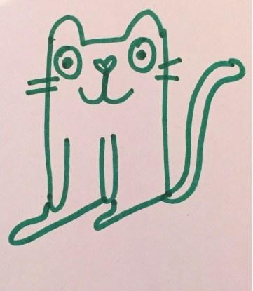 My cat illustration.
