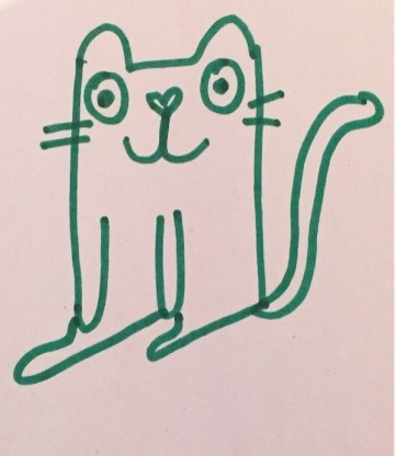 My cat illustration.