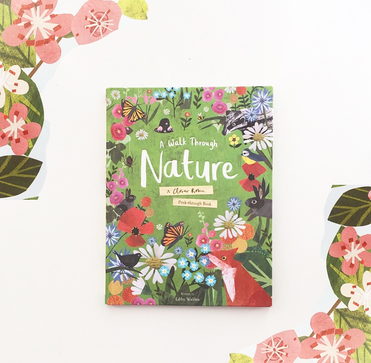Cover photo of the beautiful book Walk Around Nature.