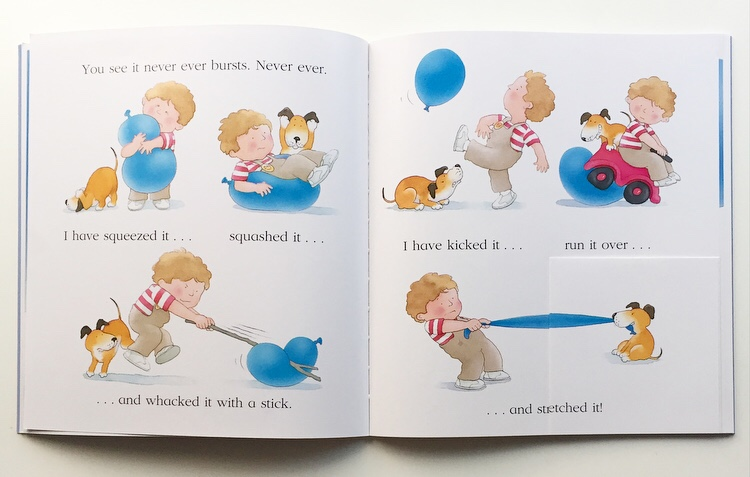 The Blue Balloon birthday edition