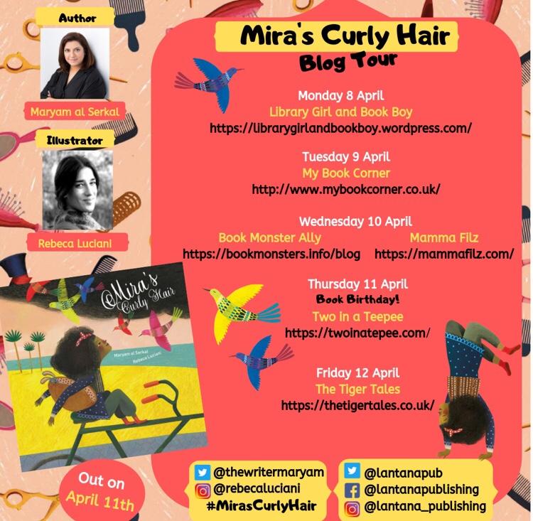 Mira's Blog tour details inlcuding mammafilz.com