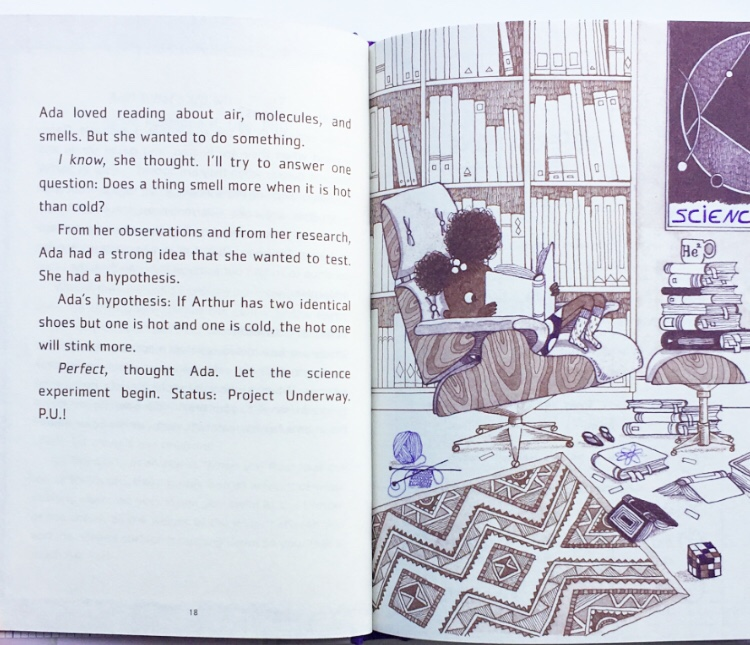 Extract from Ada Twist and the perilous pantaloons