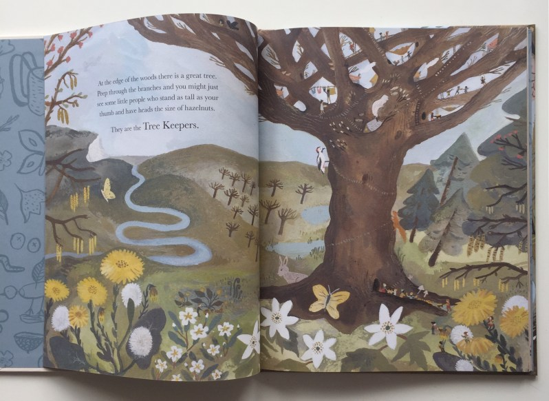 Extract from Flock picture book. Review on MammaFilz.com