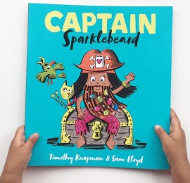 Captain Sparklebeard book review on MammaFilz.com