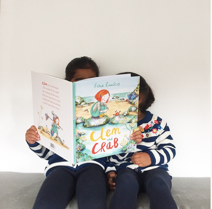 Clem and Crab book review on mammafilz.com