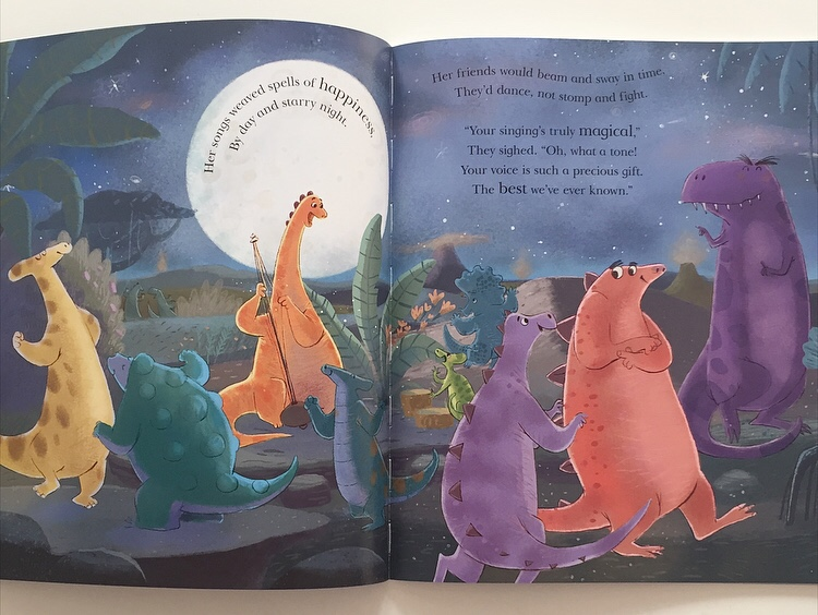 Book review of The dinosaur who lost her voice on MammaFilz.com