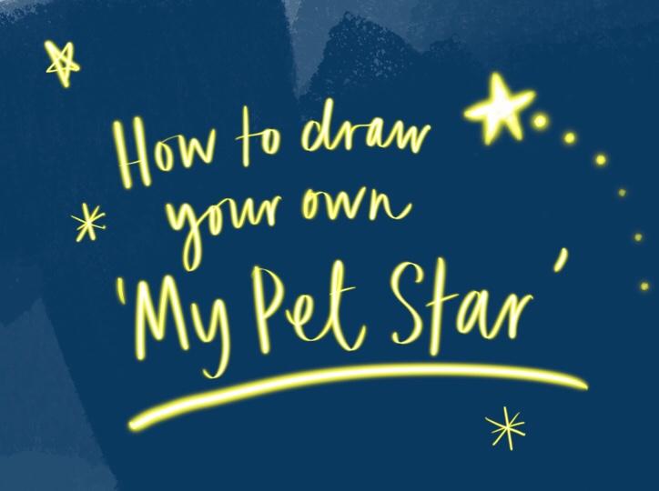 Draw your own Pet Star on MammaFilz.com