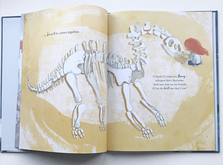 Book review on MammaFilz.com of picture book The Girl and the dinosaur