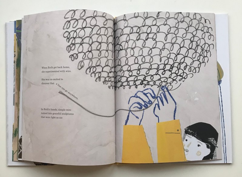 Picture book review based on artist Ruth Asawa on MammaFilz.com
