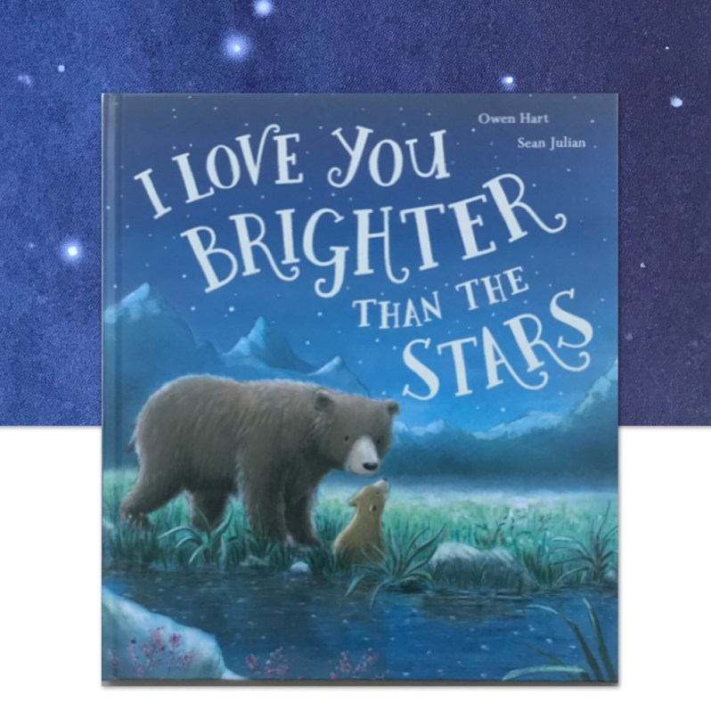 I love you brighter then the stars book review on MammaFilz.com.