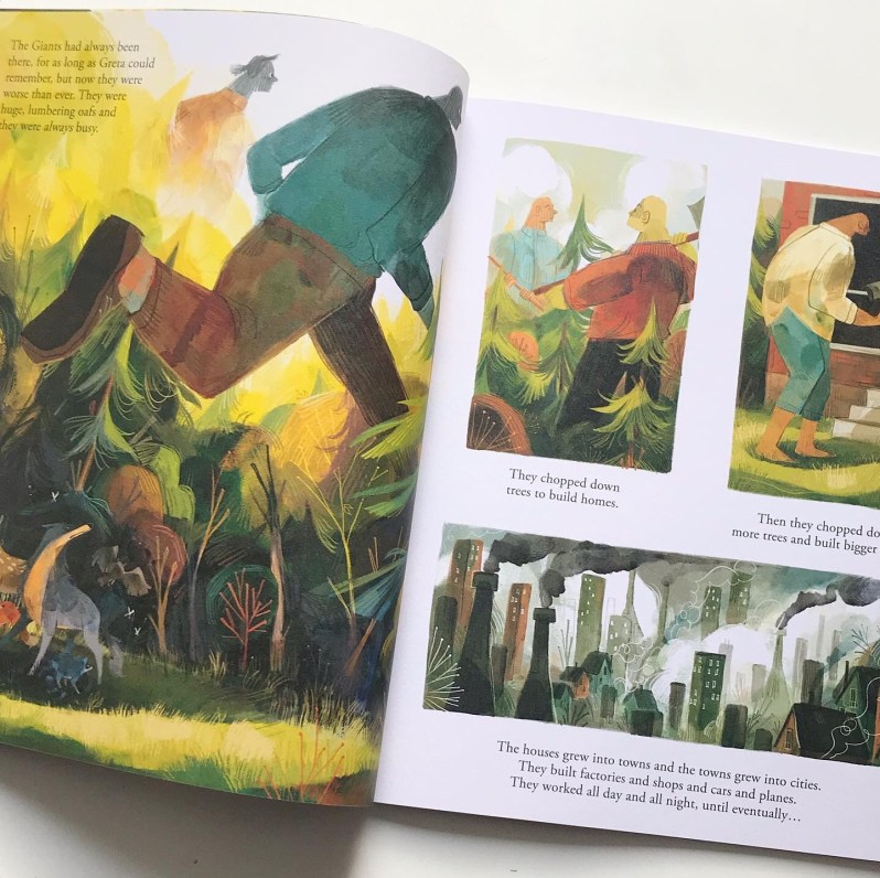 Book review of Greta and the Giants picture book on mammafilz.com