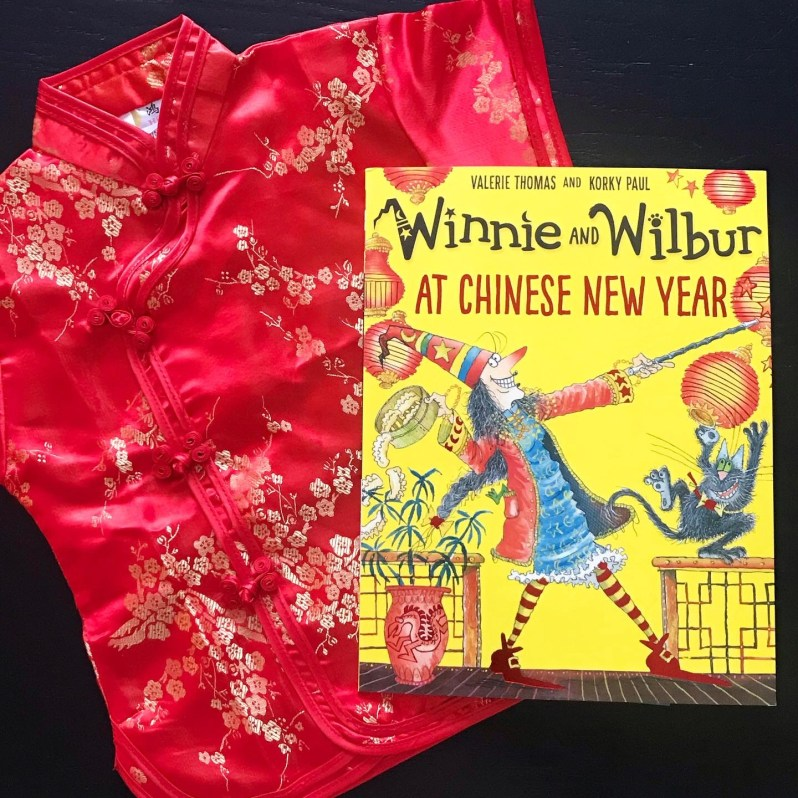 Book review Winnie and Wilbur at Chinese New Year picture book
