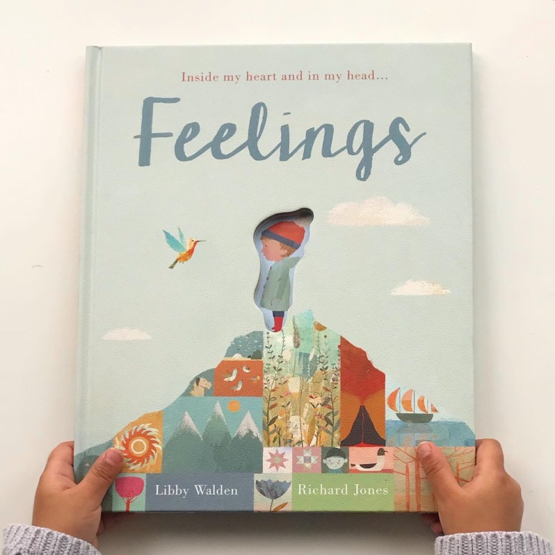 Feelings picture book review on mammafilz.com