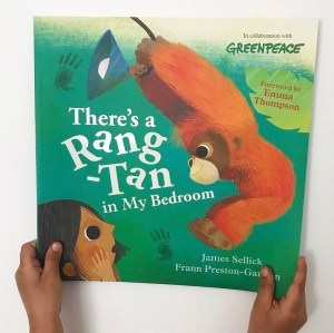 There's a rang-tan in my bedroom book review on mammafilz.com