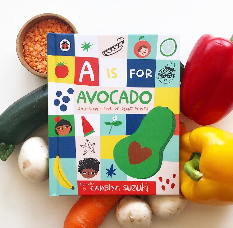 A is for avocado an alphabet book of plant power book review on mammafilz.com