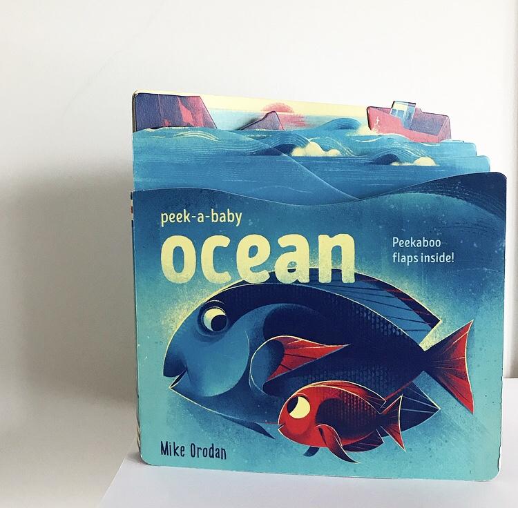 Board book on ocean on mammafilz.com