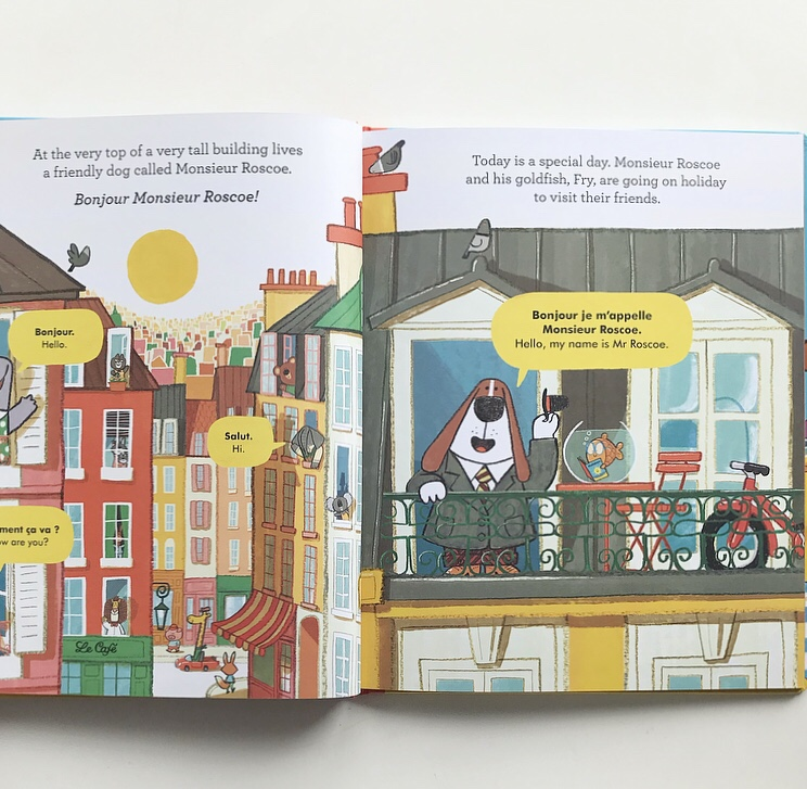 Monsieur Roscoe on holiday book review