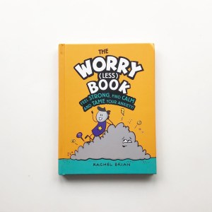 The worry less book by Rachel Brian