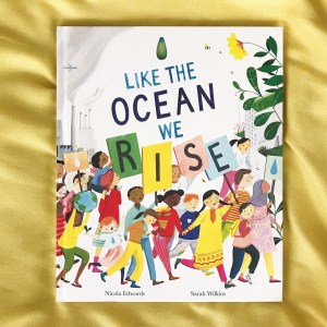 Book review like the ocean  we rise  by Nicola Edwards and Sarah Wilkins