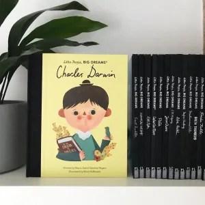 Little people big dreams Charles Darwin book review