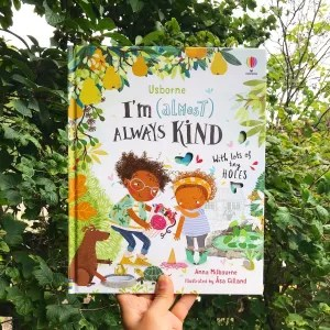 Mammafilz.com book review of I'm almost always kind