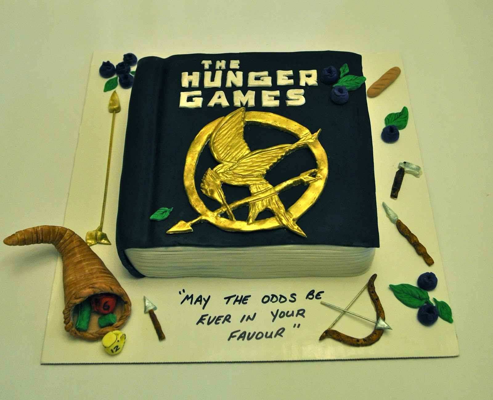 Eleven Hunger Games Cake Ideas For An Eleventh Birthday