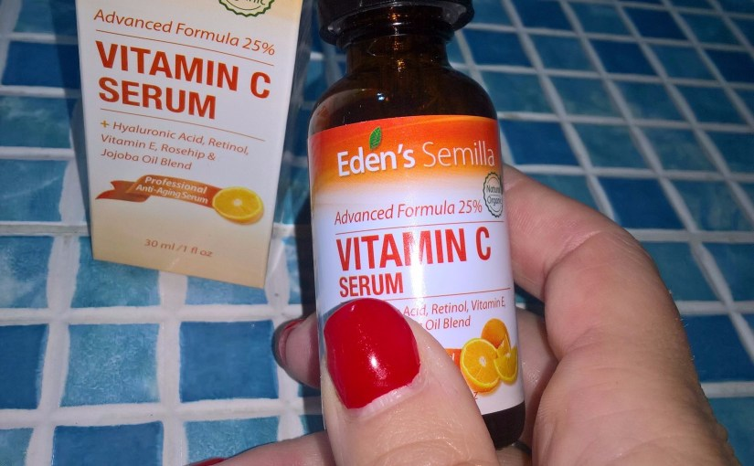 Vitamin C a Superhero for my skin