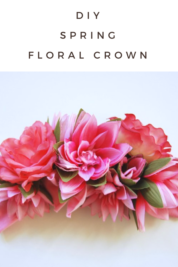 Diy Floral Crown For Spring Mamma Mode