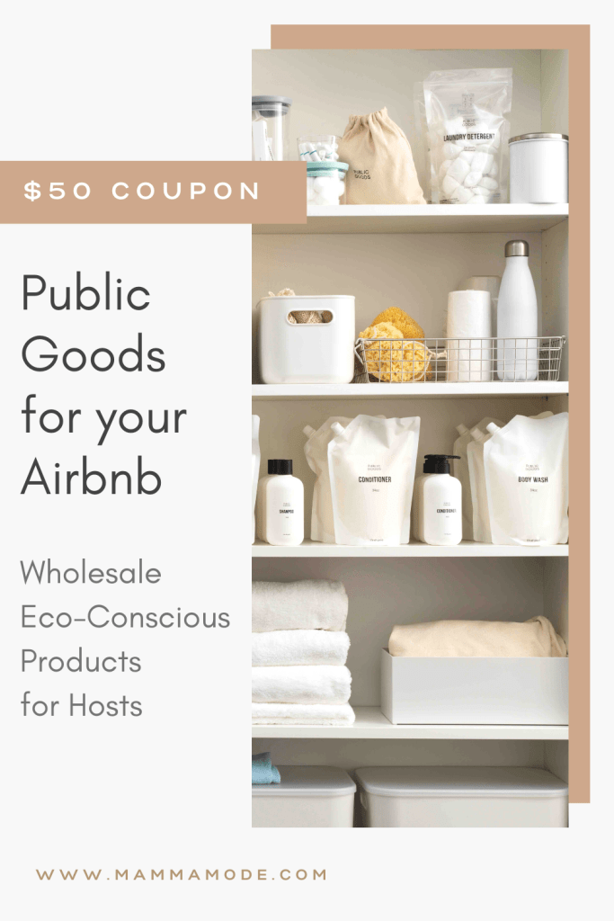 Public Goods for Airbnb Hosts