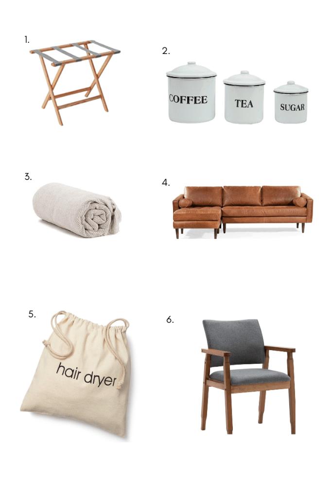 Airbnb Essential Items