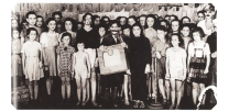 Immagine della rappresentazione tratta da un film di propaganda