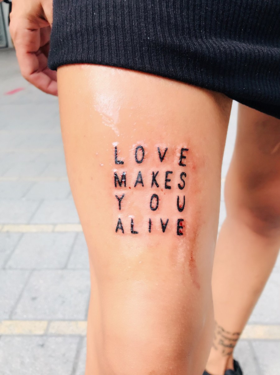 L'abitudine ad amarsi - Love makes you alive