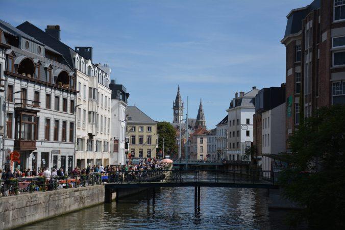 Cosa vedere a Gand : Il canale.