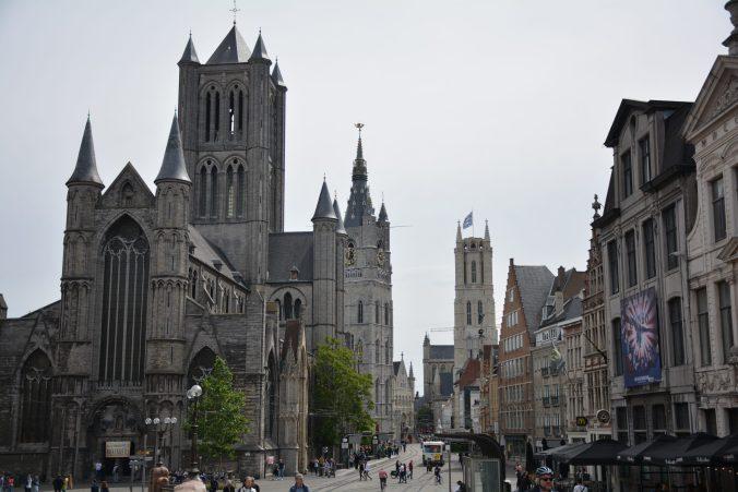 cosa vedere a Gand : chiesa di San Nicola , Campanile di Belfort e cattedrale.