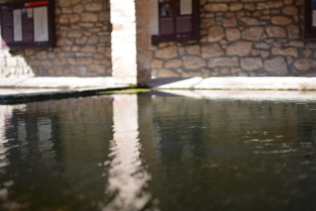 lavatoio del paesino di Vallbona de les Monges