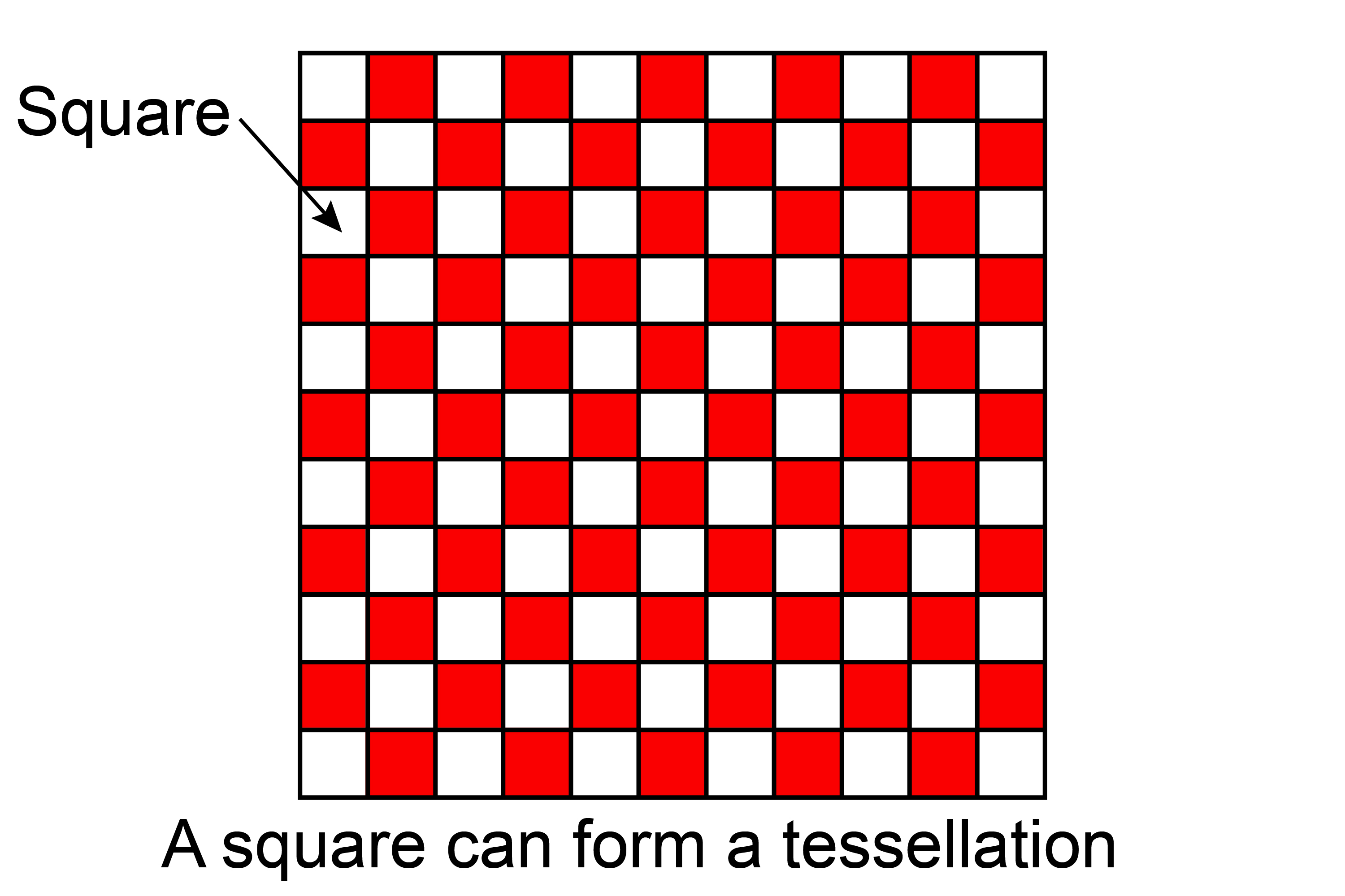 A Tessellation Is A Shape That Can Be Together With No Gaps