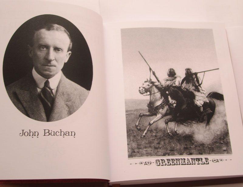 Джон Бьюкен «ПОД ЗЕЛЕНЫМ ПЛАЩОМ»-1940
