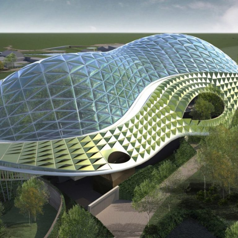 Chester Zoo Back View Rendering