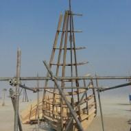 Shipwreck Construction Process, the hull