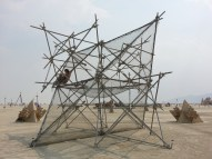 Picture of Fractal Cult central scaffolding piece.